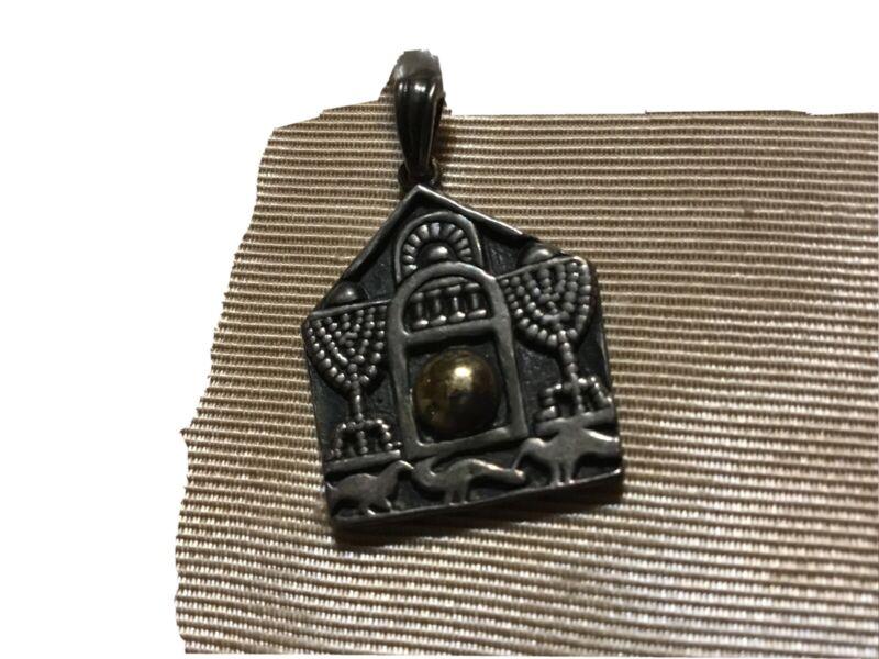 Vintage Jewish Sterling Pendant