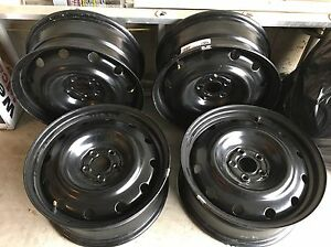 5x100 brand new steel rims