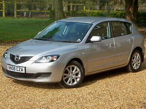 2008 '08' Mazda3 1.6 TS2 5 Door Hatchback. Only 45000 miles Silver
