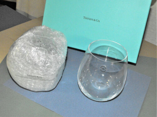 Tiffany & Co Crystal Glasses Set Cocktail Drink Whiskey Wine Unused In Box Italy