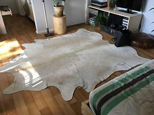 cow hide fur rug mat Heathcote Sutherland Area Preview