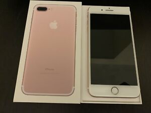 iPhone 7 Plus - 128GB - Rose Gold - MINT Condition