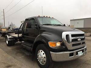 2005 Ford f750 highway tractor 7.2l cat. Automatic