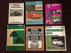 Volkswagen VW Beetle manuals repair guides books 6 Glenelg Holdfast Bay Preview