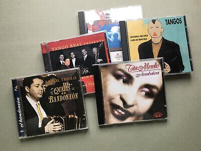 LOT 5 CD - TANGO  segunda mano  Embacar hacia Argentina