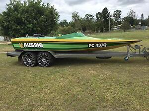 Shepirocraft 350 Chev Ski Boat Tinana Fraser Coast Preview
