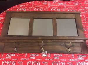Handcrafted solid pine mirror St. John's Newfoundland image 3