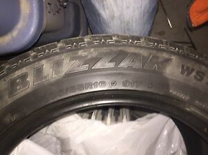 4 Bridgestone Blizzak 205/55R16 Peterborough Peterborough Area image 1