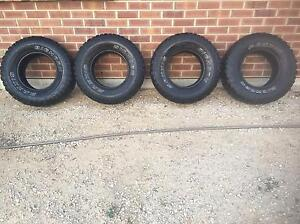 4x MAXXIS BIGHORN TYRES 31x10.5x15 Hahndorf Mount Barker Area Preview