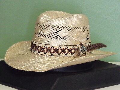 CHARLIE 1 HORSE DANCE HALL STRAW COWBOY WESTERN HAT (Dance Western Cowboy Hat)
