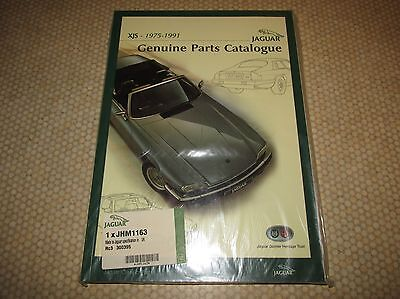 Jaguar XJS XJ-S Pre-Facelift Genuine Parts Catalogue - JHM1163