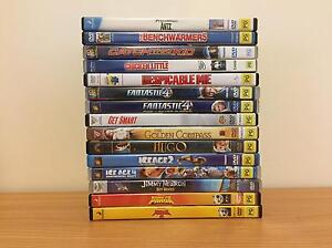 DVD's (Assorted PG+ rated) Castle Hill Townsville City Preview