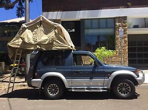 Mitsubishi Pajero 4WD CAMPER with 10 month rego nsw roof top tent Sydney City Inner Sydney Preview