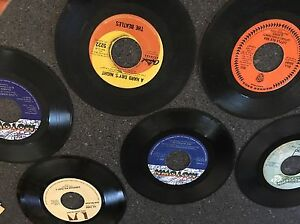 Huge Collection of 45's