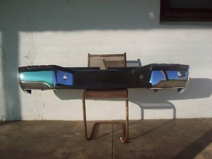 Nissan Navara D22 CROME REAR BUMPER BAR 1 ONLY.NO TIME WASTERS Karoonda Karoonda Area Preview