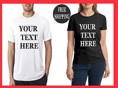 buy Custom Personalized T Shirts -print your TEXT, Short Sleeve, camisetas - Buy Custom