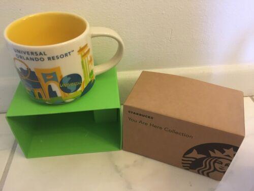 Universal Studios Orlando You Are Here  Starbucks Mug. 14 Oz