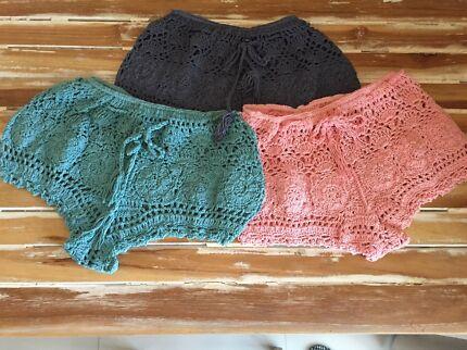 Crochet shorts Bonogin Gold Coast South Preview