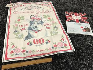 Cath Kidston The Queen's Jubilee tea towel + book bundle Yeronga Brisbane South West Preview