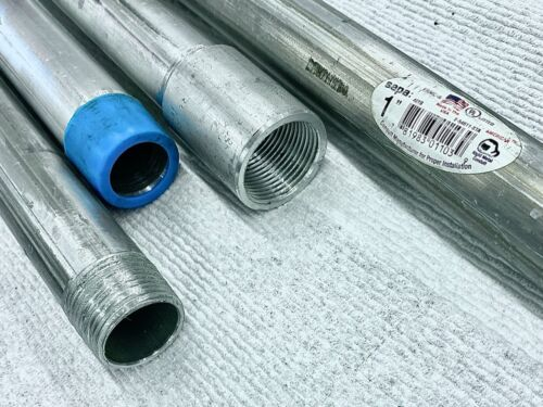 1-IN Aluminum Rigid Conduit 1-Inch X 10 Foot ~ New
