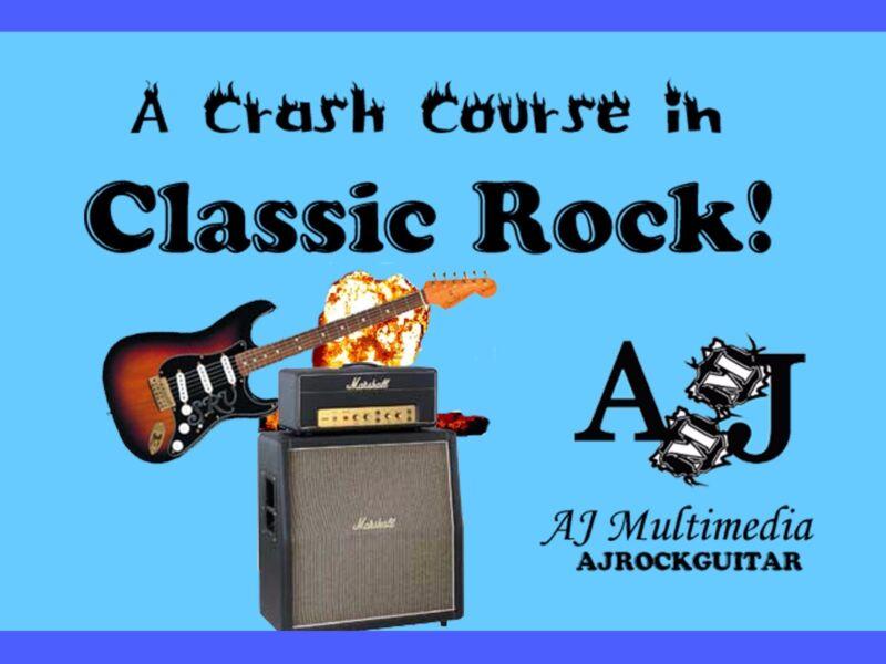 Custom Guitar Lessons, Crash Course in Rock Guitar!