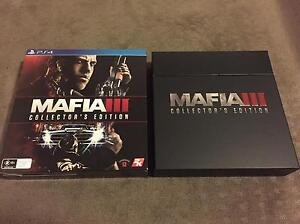 Mafia 3 Collectors Edition PS4 Mint Condition. Bedford Bayswater Area Preview