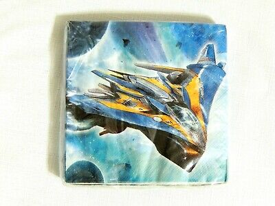 Galaxy Party Supplies (GUARDIANS OF THE GALAXY ~~16-PAPER DESSERT  NAPKINS-  - PARTY )