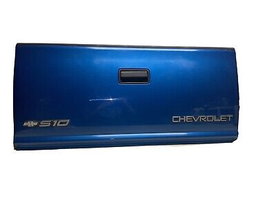 1994-2004 GMC CHEVY S10 S15 Sonoma Pickup Truck Lid TAILGATE blue OEM X4223