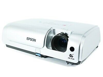 Epson PowerLite S4 LCD Projector, Portable 1080i HD HDMI w/Adapter bundle
