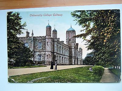 University College Galway- Ireland 1926 Postcard