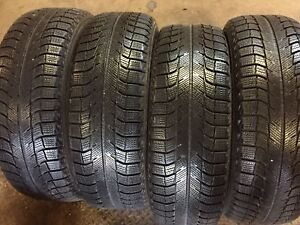 4 Michelin X Ice 205 65 16 Snow Tires Rims With Sensors Tires