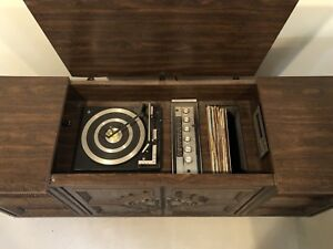 1980 Electrohome Radio, Record and 8-track player