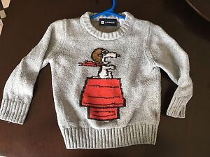 Gap sweater snoopy from peanuts size 2  London Ontario image 1