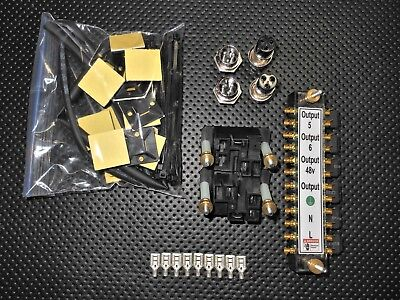 Gecko G540 Relay Kit This Kit Includes Everything Minus Wire