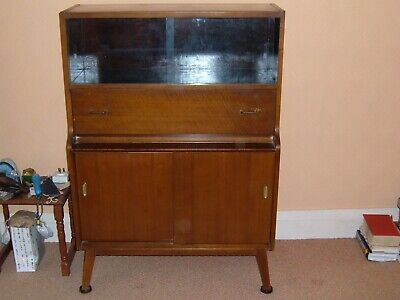 Early 1950's Vintage Trophy and Bureau Cabinet - CASH ON COLLECTION  - REDUCED
