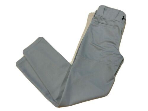 Under Armour Boys Heatgear Loose Fit Baseball Pants Gray YMD
