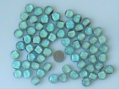 dichroic glass cabochon lot of 67 fused COE 90 cab hand made crafted