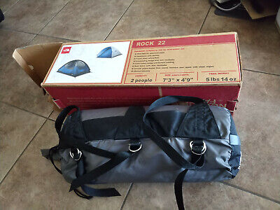NEW / The North Face Rock 22 / 2-Person Backpacking/Camping Tent 3 Season