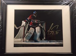 Montreal Canadians Carey Price signed 8x10