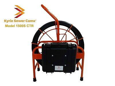 Kyrie Cam 1500s Ctr 150 Ft Sewer Camera With On Screen Counter 512 Hz Sonde