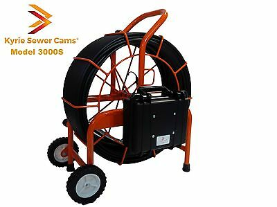 Kyrie Cam 3000s 300 Ft Pipe Inspection Camera Sewer Main 512hz Sonde 300