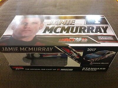 Nascar 2017 Jamie Mcmurray  1 1 24 Scale Action Lionel Sherwin Williams Car