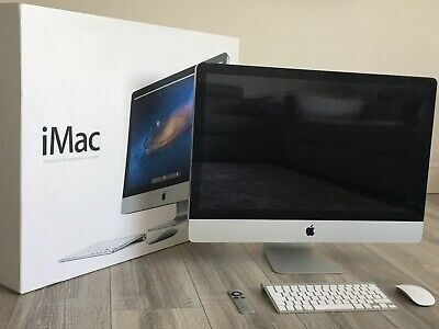 "Apple iMac 27"" Mid 2011 - 3.1GHz i5, 16GB RAM (Upgraded from 4GB), 1TB HDD"