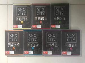 Sex and The City DVDs the complete collection series 1-6 Granville Parramatta Area Preview