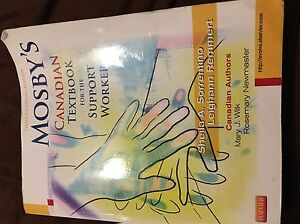 Mosby's Canadian textbook for the support worker: 3rd edition  Oakville / Halton Region Toronto (GTA) image 1