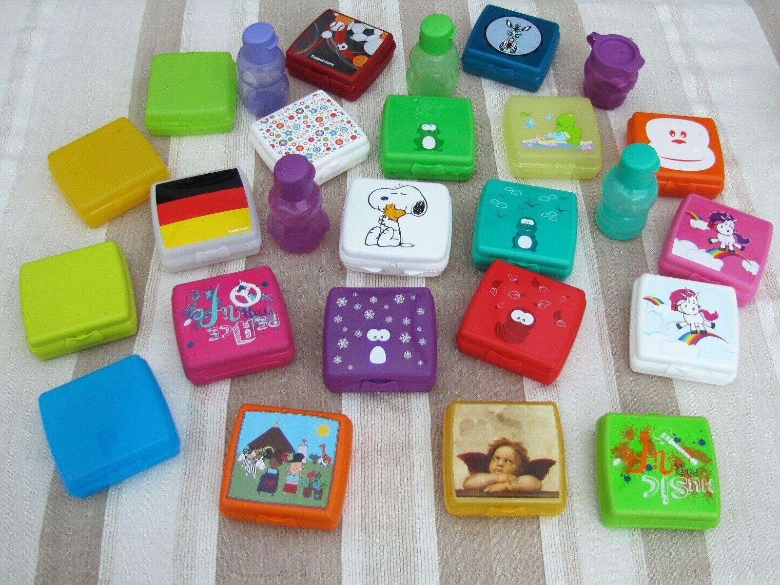 Tupperware Sandwichboxen und Sandwichboxen-Sets