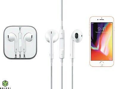 iPhone Apple Earphones - iPhone Wired Volume Control Headphones - White
