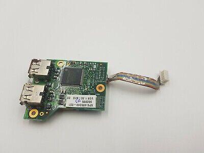 hp compaq 6735b laptop usb port board / carte usb cable original