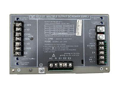 Dual Output Dc Power Supply 12v 20 Amp Hp 63312f 550 Watt