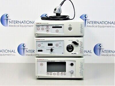 Stryker 1088 Camera Controller W Head Coupler X7000 40l Insufflator